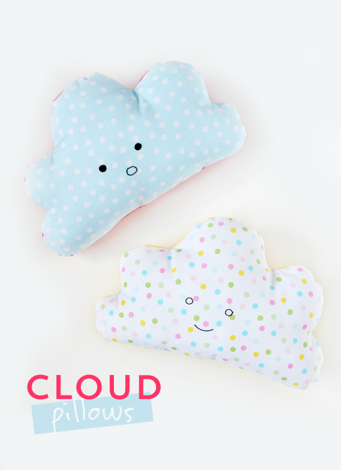 cloud pillow / ann kelle