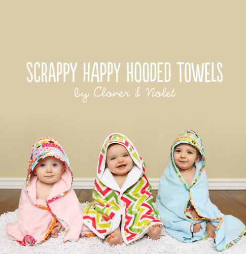 scrappy happy hooded towels / ann kelle