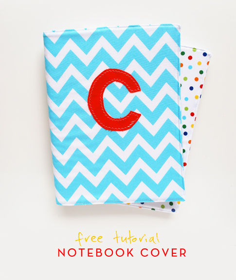 notebook cover tutorial / ann kelle