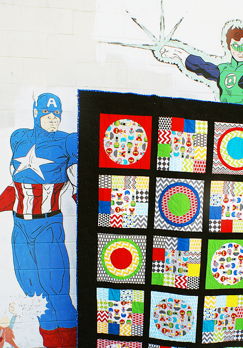 super kids quilt tutorial / ann kelle