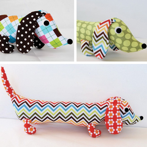 Perfect Dachshund Pattern Sewing Vignette - Easy Scarf Knitting ...