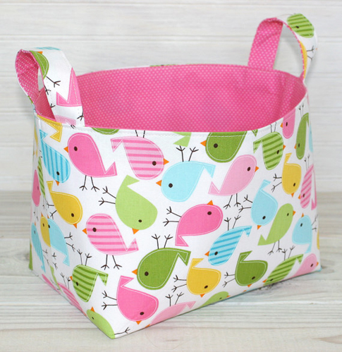 These are the most sturdiest little fabric storage bins. Plus theyu0027re super cute and made by one of the sweetest gals Christie.  sc 1 st  Ann Kelle & fabric sighting . . . « Ann Kelle