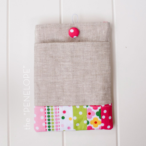 ipad and kindle sleeve sewing tutorial