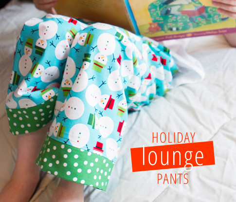 lounge pants sewing tutorial