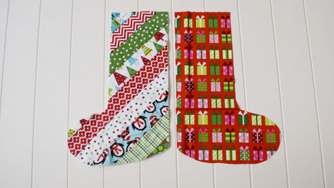 christmas in july: stocking tutorial