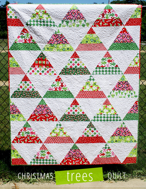 Simple Modern Quilt Patterns Free : 12 Free Modern Christmas Quilt Patterns - wow i like that