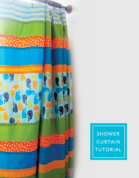 shower curtain tutorial / ann kelle