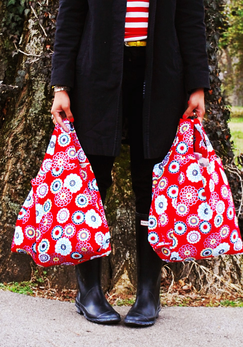 grocery bag sewing pattern / ann kelle