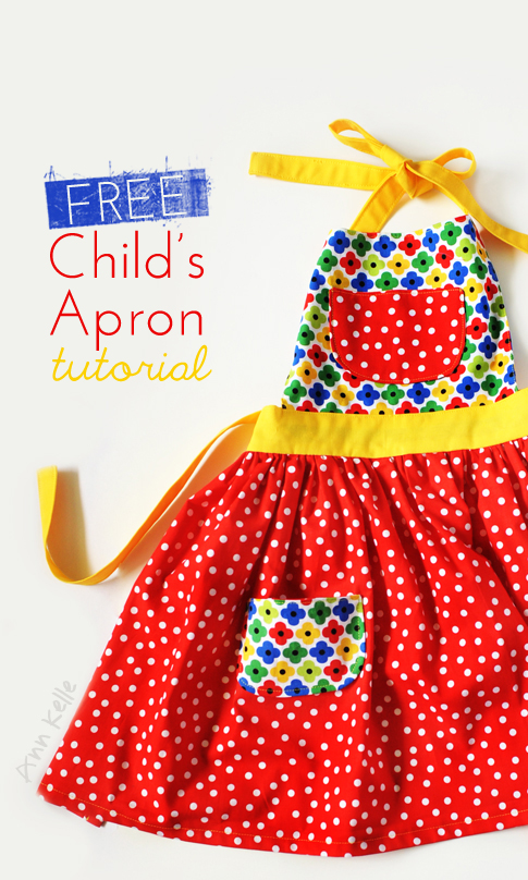 tutorial: child\'s apron « Ann Kelle