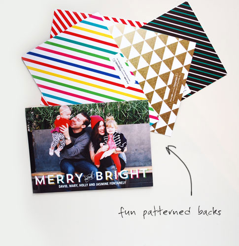 tiny prints holiday cards by ann kelle