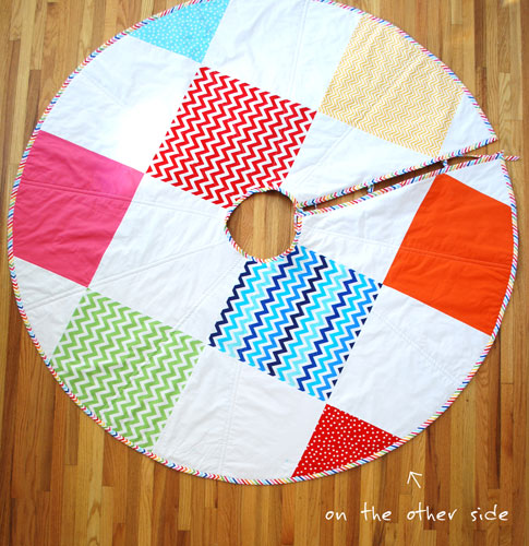 christmas tree skirt / ann kelle