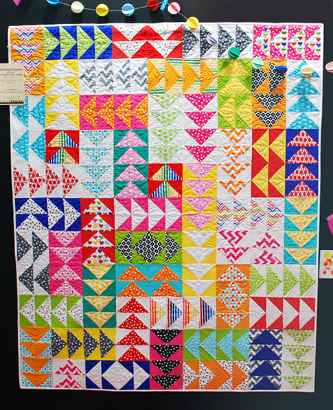 remixed geese quilt free tutorial / ann kelle