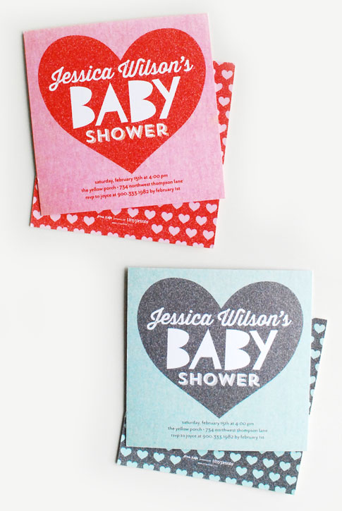 baby shower invitation / ann kelle