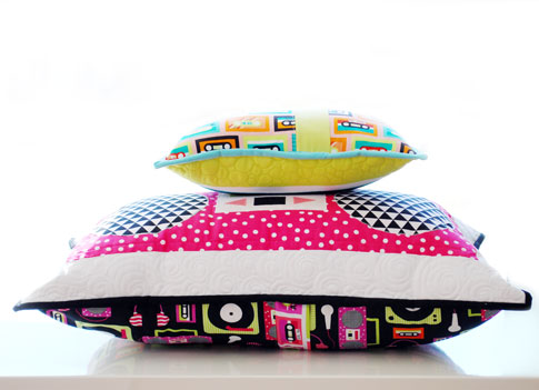 beatbox pillows / ann kelle