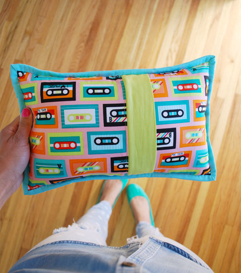 cassette tape pillow / ann kelle