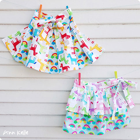 wonder peekaboo & twirly girl apron pattern / ann kelle