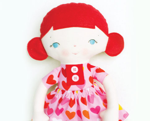 bits of whimsy doll / ann kelle