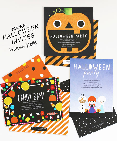 new halloween invites / ann kelle