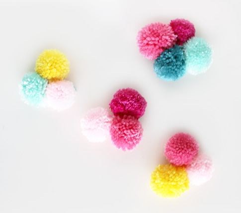 pom pom ring holders / ann kelle