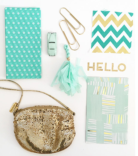 ann kelle /  color crush mint green