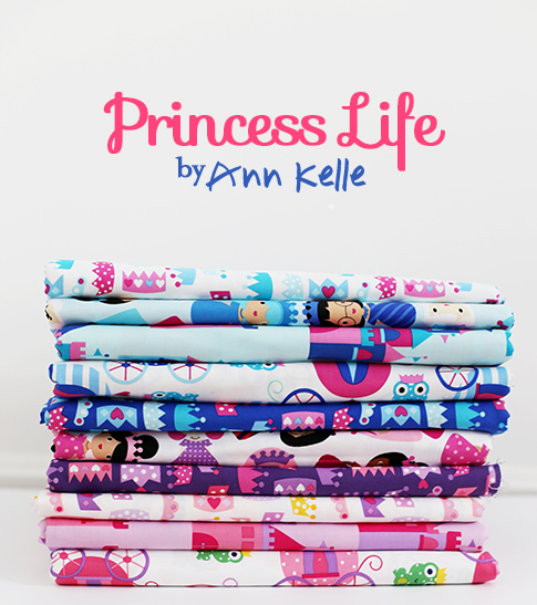 princess life fabric by ann kelle