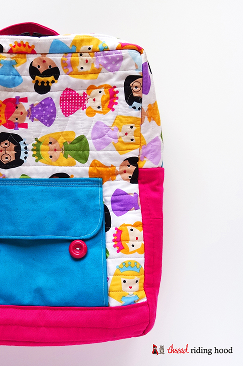 ann kelle princess mini back pack sewing tutorial