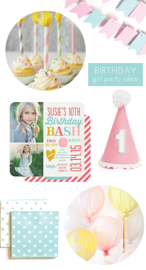 girl birthday party inspiration / ann kelle