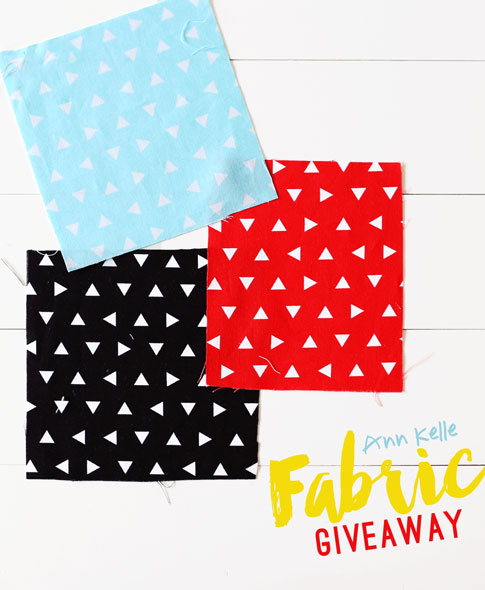 remix triangle fabric giveaway annkelle