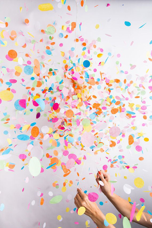 confetti by knot and bow