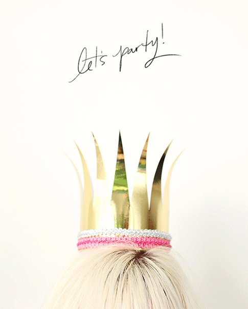 diy birthday crowns / ann kelle