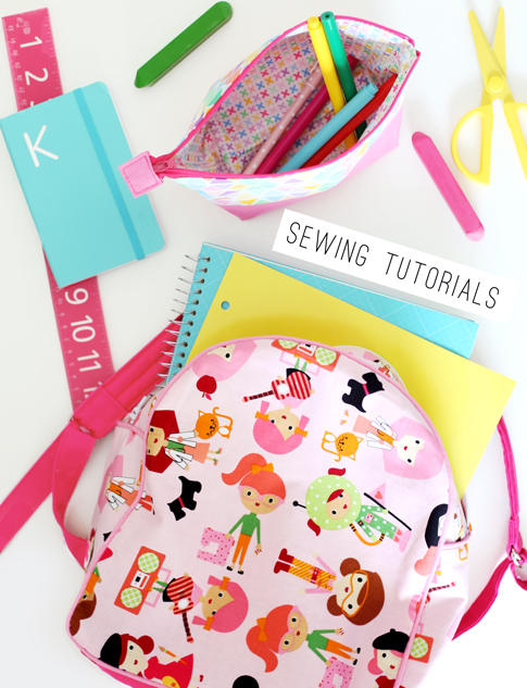 school supplies sewing tutorial ann kelle