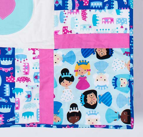 Princess Life Carriage Wall Hanging Quilt / ann kelle fabric