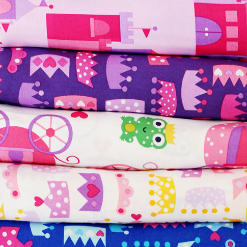 ann kelle fabric / princess life fabric
