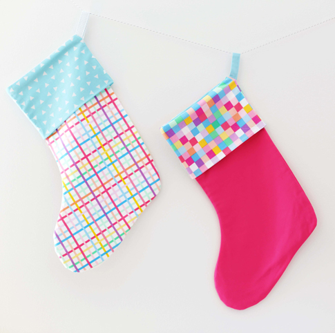 holly jolly christmas stocking / ann kelle