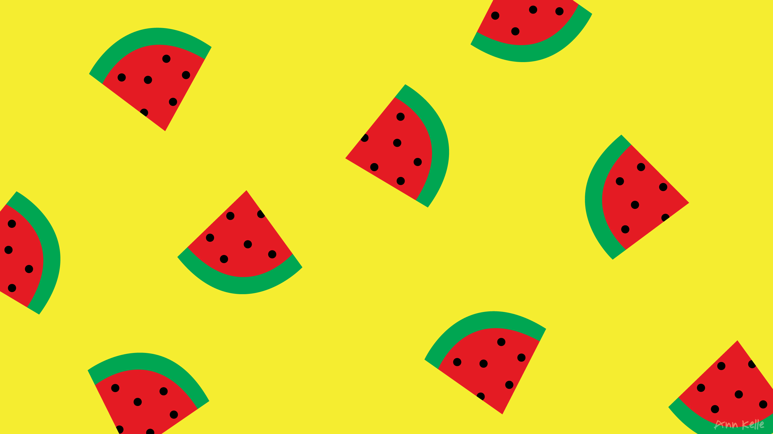 Cute Pink <b>Yellow Watermelon</b> Ice Cream Stock Vector 354177383 ...