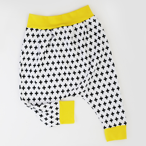toddler harem pants / ann kelle fabric