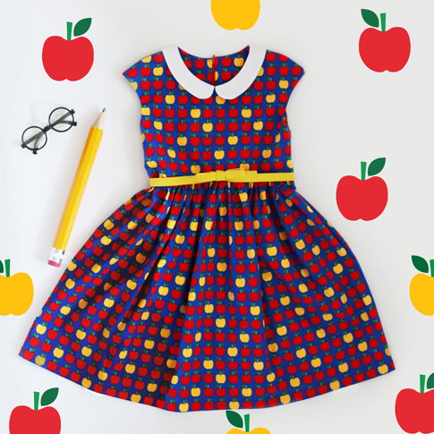 an apple a day dress / ann kelle
