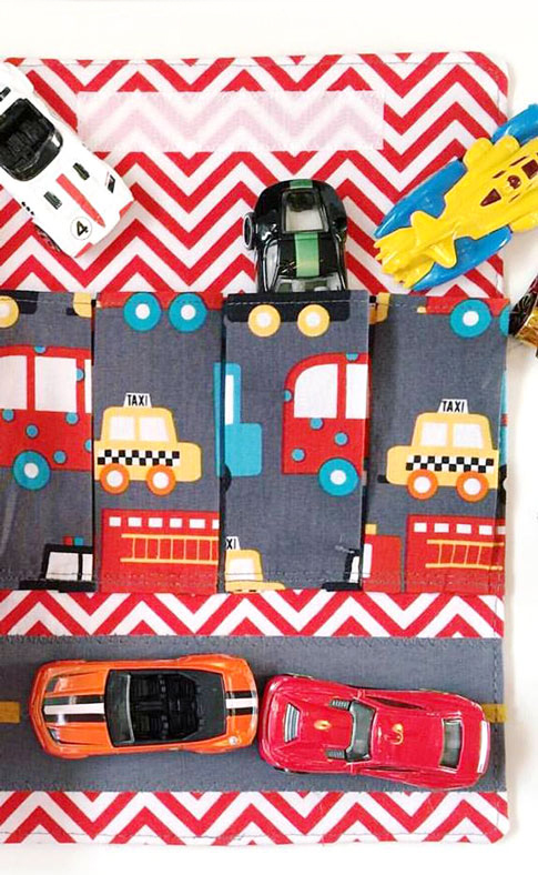 car wallet / ann kelle fabric