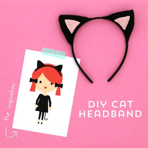 easy diy costumes / cat headband costume / by ann kelle