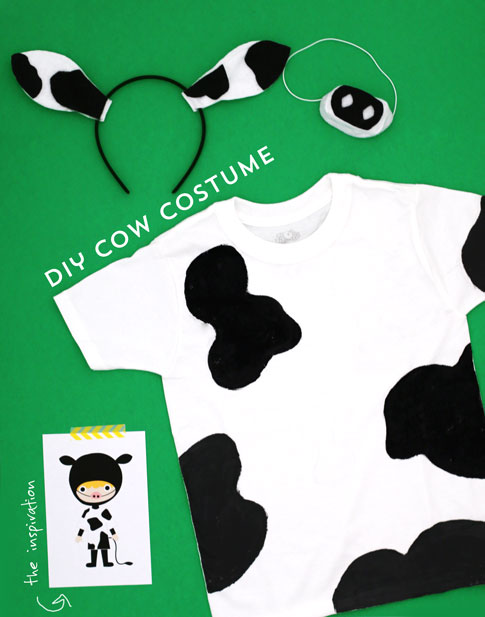 easy diy costumes / cow costume / by ann kelle