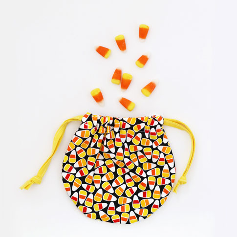 candy corn fabric by ann kelle / free sewing tutorial