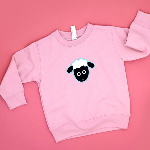 ann kelle sheep sweatshirt