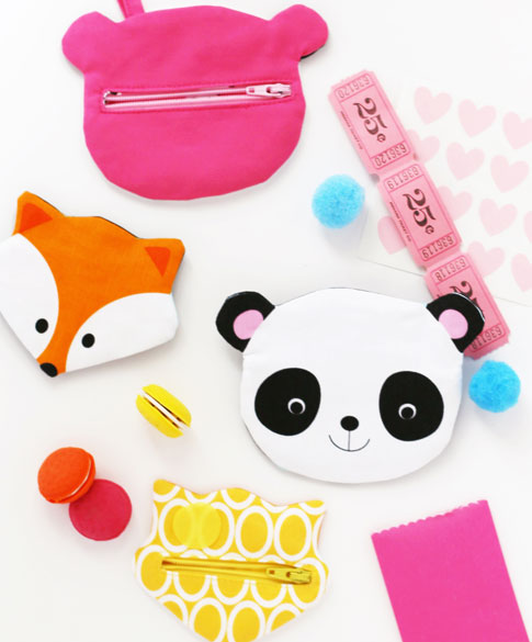 ann kelle fox and panda zipper pouch sewing tutorial
